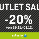 Jetzt zugreifen: 20% Rabatt auf die Saleware im Store von Sport Schuster