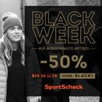 50% Rabatt auf Top-Accessoires bei SportScheck
