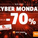 SportScheck feiert den Cyber Monday mit Rabatten von bis zu 70% und 0€ Versandkosten!