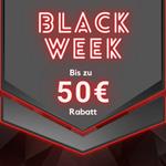 Bis zu 50 EURO Rabatt mit den Black Week Angeboten von Sportstech