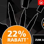 Nur heute: 22% Rabatt auf das STABILO Sortiment
