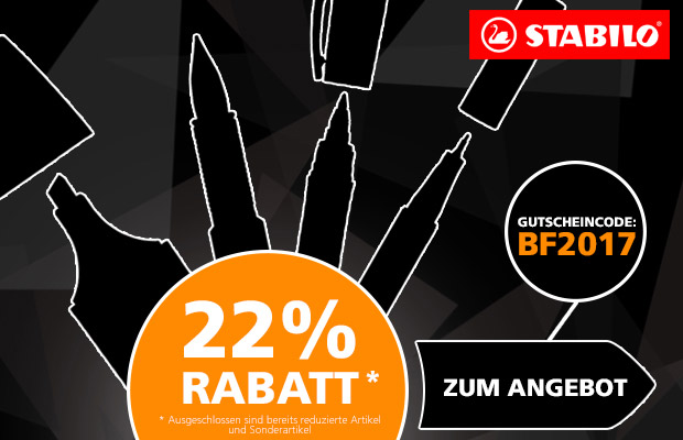 Stabilo Black Friday 2017