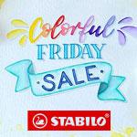 Colorful Friday: bis zu 30% auf ausgewählte Artikel