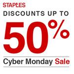 Cyber Monday bei Staples mit Rabatten von bis 50%