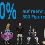 Lebensechte 3D Figuren zu realen Schnäppchenpreisen bei Staramba