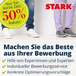 Mach das Beste aus deiner Bewerbung und spare 50% mit dem Bewerbungsservice von STARK