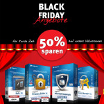 Black Friday bei Steganos: 50% Rabatt auf alle Vollversionen