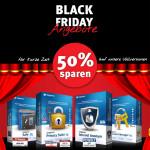Black Friday bei Steganos: 50% Rabatt auf alle Vollversionen