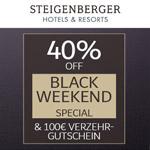 40% auf den tagesaktuellen Bestpreis in ausgewählten Steigenberger Hotels & Resorts