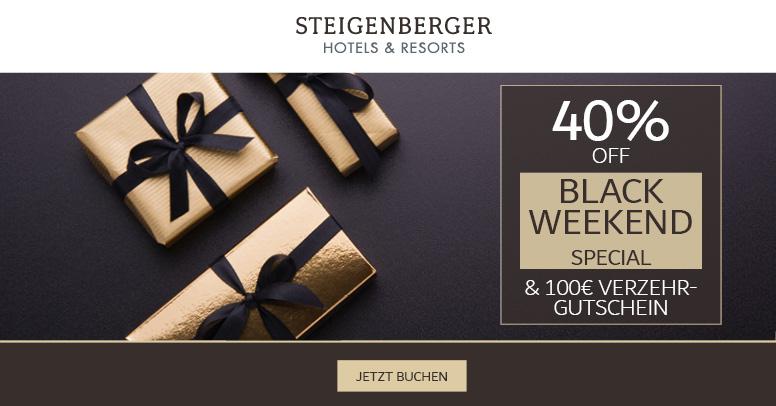 Steigenberger Hotels & Resorts Black Friday 2019