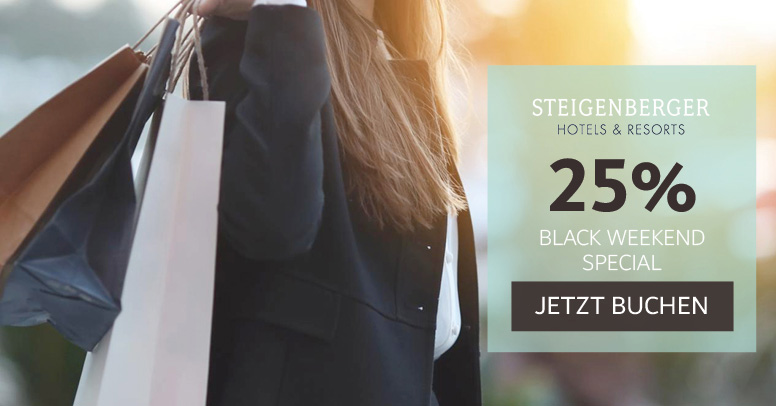 Steigenberger Black Friday 2020