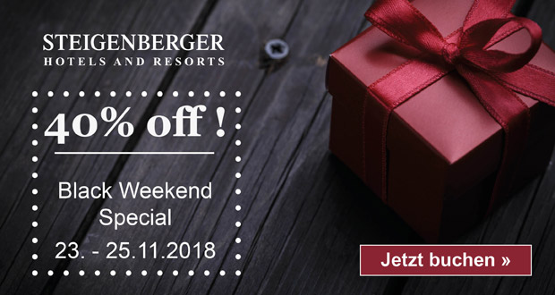 Steigenberger Hotels Black Friday 2018