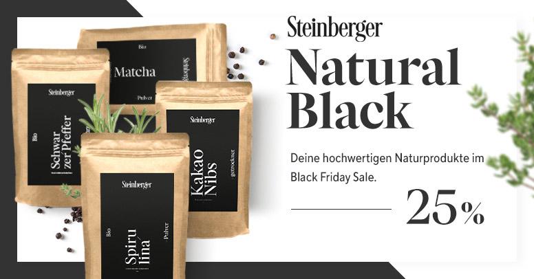 Steinberger Naturprodukte Black Friday 2020