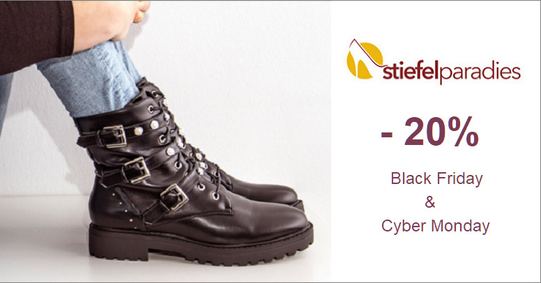 Stiefelparadies Black Friday 2020