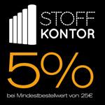 -5% auf ALLES bei Stoffkontor am BLACK FRIDAY