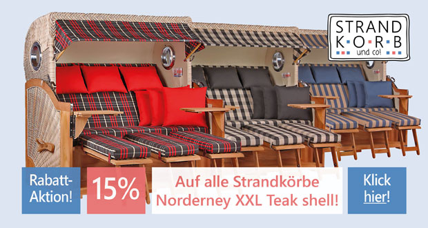Strandkorb & Co Black Friday 2018