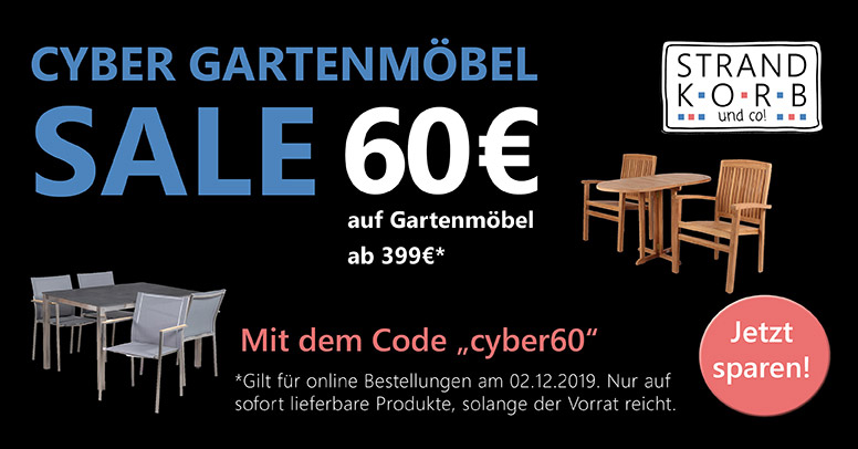 Strandkorb & Co. Cyber Monday 2019