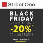 Black Friday Shopping Days im Online-Store von Street One – 20% Rabatt auf nicht reduzierte Ware