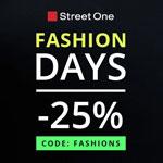 We Love Fashion Days bei Street One: Sicher dir nur für kurze Zeit 25% Rabatt auf alles