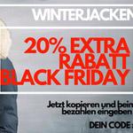 Nur heute 20% Rabatt auf Winterjacken mit Fellkragen bei Style Italy