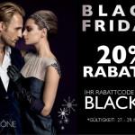 Styleicône Black Friday Aktion: 20% Rabatt auf aktuelle Kollektionen vom 27.-29.11.2015!