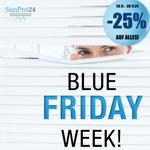 Blue Friday Week auf Sunpro24.de mit 25% Rabatt auf Alles!