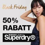 Black Friday bei Superdry – Bis zu 50% Rabatt auf ausgewählte Produkte