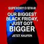 Black Friday Style Drops bei Superdry mit bis zu 50% Rabatt