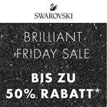 Brilliant Friday Sale bei Swarovski mit bis zu 50% Rabatt