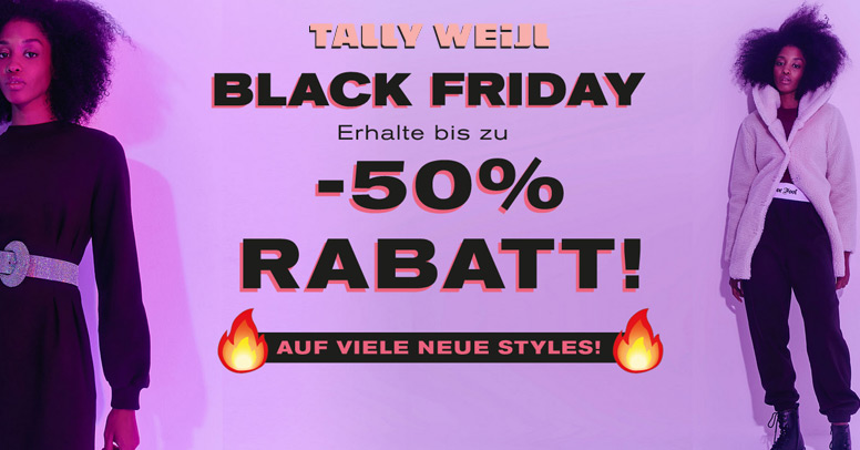 Tally Weijl Black Friday 2020