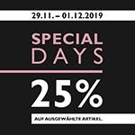 25% Rabatt auf ausgewählte Schuhe, Taschen und Accessoires bei Tamaris!