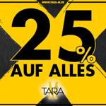Black Shopping mit Tara-M – Spare 25% auf alle Marken!