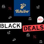 Black Deals bei Tchibo – Spare bis zu 50% auf viele Artikel