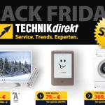 Top Black Friday Angebote bei TECHNIKdirekt – Jetzt bis zu 405 Euro sparen!