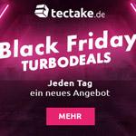 Black Friday Turbodeals bei Tectake – Jeden Tag ein neues Angebot!