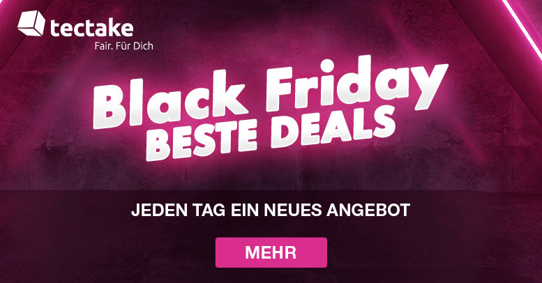 Tectake Black Friday 2020