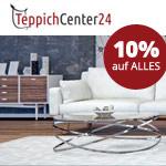 Jetzt beim Teppichkauf sparen! 10 Prozent Rabatt auf alle Produkte von TeppichCenter24!