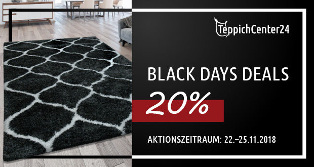Teppichcenter24 Black Friday 2018