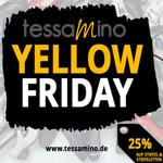 Yellow Friday bei tessamino: 25% Rabatt auf ausgewählte Stiefel und Stiefeletten