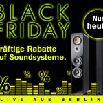 Black Friday 2013 bei Teufel: Bis zu 700 EUR Rabatt auf ausgewählte Topseller!