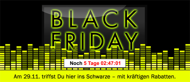 auch teufel k ndigt f r den black friday wieder kr ftige rabatte an black. Black Bedroom Furniture Sets. Home Design Ideas