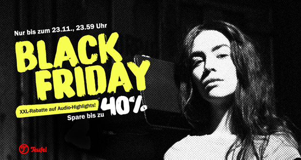 Teufel Black Friday 2018