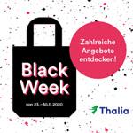 Thalia Black Week: eBooks, Hörbücher, Technikbestseller und vieles mehr stark reduziert