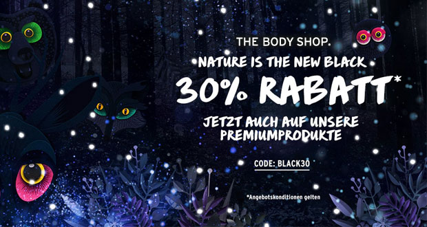The Body Shop Black Friday 2018