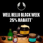 Black Week bei The Body Shop – Spare bis zu 25% auf deine Lieblings-Beautyprodukte