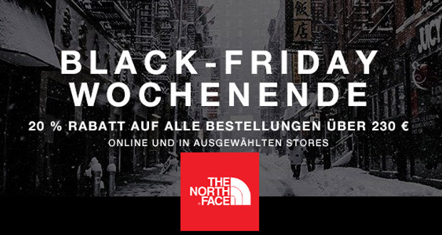 The North Face Black Friday 2017