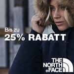 Spare nur für kurze Zeit bis zu 25% mit den Black Friday Angeboten bei The North Face