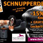 Jetzt ein schwarzes Hundebett von tierlando bestellen und satte 15% sparen!