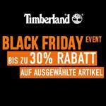 Spare jetzt bis zu 30% auf ausgewählte Artikel beim Black Friday Event im Store von Timberland