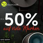 Tischwelt Black Week. Sicher dir jetzt Produkte der Top Marken mit bis zu 50% Rabatt